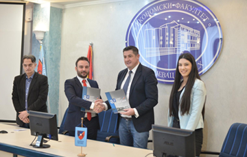Proman Consulting | Agreement on cooperation signed between the Faculty of Economics and the consulting agency PROMAN CONSULTING